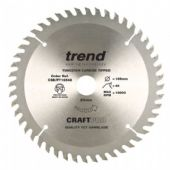 Trend CraftPro 165x20mm TCT Circular Saw Blade - 48 Teeth (CSB/PT16548)